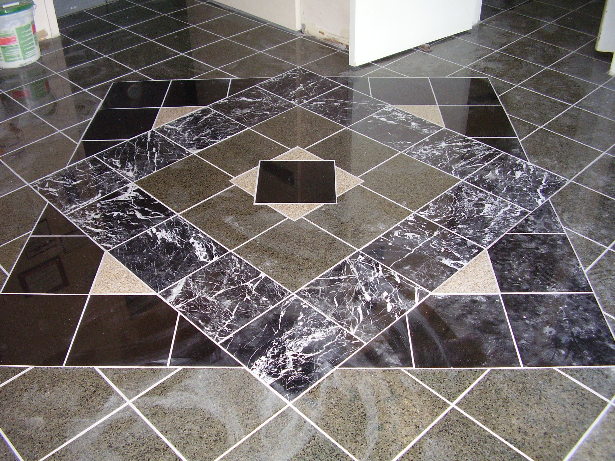 Commercial painting contractors serving dc va md for Tile floor installation